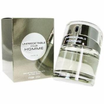 4 Pack - Glenn Perri Unpredictable Pour Homme Eau De Toilette Spray for Men 3.4 oz