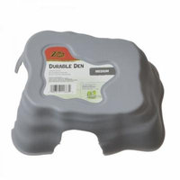 Zilla Durable Den for Reptiles - Gray Medium - (8.6