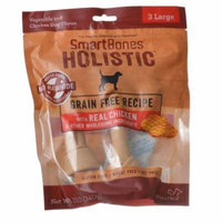 SmartBones Holistic Dog Chews - Chicken Large - 3 Pack - (Dogs over 50 lbs) - Pack of 2