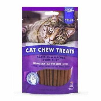 N-Bone Cat Chew Treats Chicken Flavor 3.74 oz - Pack of 6