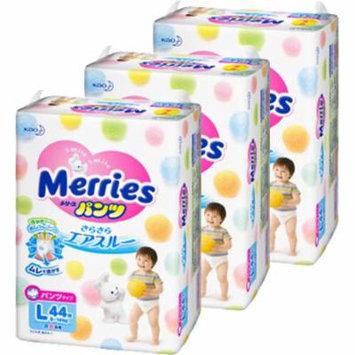 Merries Pants Japanese Diapers L size (9-14kg) 132 pcs (3x44pcs) Additional discount