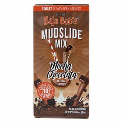Baja Bob's Sugar Free Mudslide Mix - 8 Single-Serve Cocktail Mix Packets