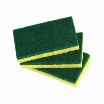 Superio Heavy Duty Cellulose Scrub Sponge 12X7X2cm ( 3-pack.)