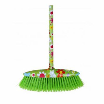 Superio Upright Broom with Flower Print