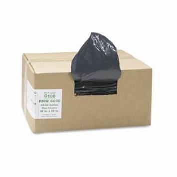 Product of Earthsense Recycled 1.25mil Can Liners, 60-gal. Capacity, 100 ct. - Black - Trash Bags [Bulk Savings]