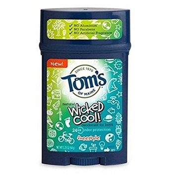 Tom's of Maine Wicked Cool Deodorant for Boys Freestyle 2.25 oz