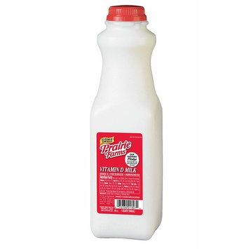 Prairie Farms Dairy QT Whole Fresh Milk, 32 oz