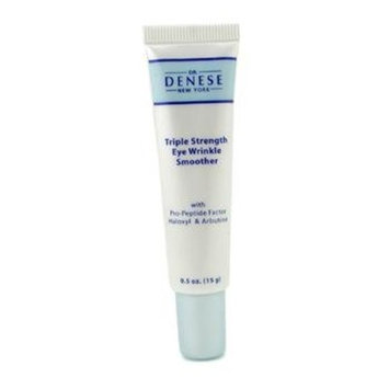 Dr. Denese Triple Strength Eye Wrinkle Smoother with Pro-Peptide Factor Haloxyl & Arbutine - 15g/0.5oz