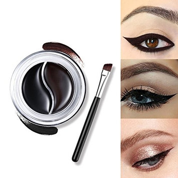 eroute66 Waterproof Eye Studio Lasting Drama Gel Eyeliner Dual Colors Palette Cosmetic