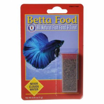 SF Bay Brands Freeze Dried Blood Worms .03 oz - Pack of 2