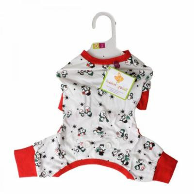 Lookin Good Snowmen Dog Pajamas Small - (Fits 10