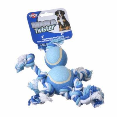 Spot Mega Twister Double Tennis Ball Man Dog Toy 10