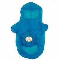 Pet Life Ultimate Waterproof Thunder-Paw Zippered Blue Travel Dog Raincoat X-Large - (22