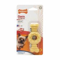 Nylabone Dura Chew Textured Ring & Bone - Chicken Flavor Petite - 4