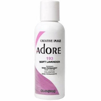 Creative Images Systems Adore Semi-Permanent Haircolor [193], Soft Lavender 4 oz