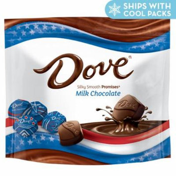DOVE Red, White & Blue Milk Patriotic Chocolate Promises 8.46 Ounce Bag, 4 Pack