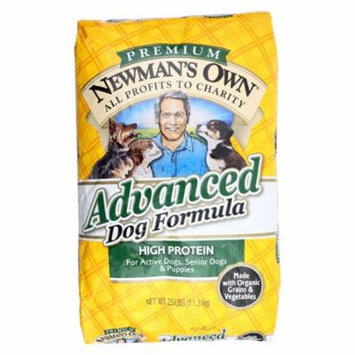 Newmans Own Organics Dog Dry Formula Advanced Case of 1 25