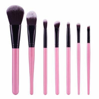 Mosunx 7Pcs Cosmetic Brush Makeup Brush Sets Kits Tools BK