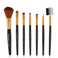 Mosunx 7pcs Makeup Cosmetic Brushes Eyeshadow Eye Shadow Foundation Blending Brush BK