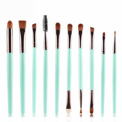 Mosunx 10pcs Makeup Brush Set tools Make-up Toiletry Kit Wool Make Up Brush Set