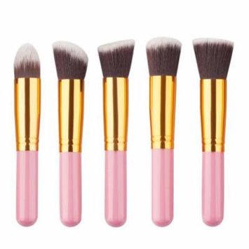 Mosunx 11Pcs Mini Cosmetic Eyebrow Eyeshadow Brush Makeup Brush Sets Kits Tools