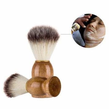 Mosunx Men Shaving Bear Brush Best Badger Hair Shave Wood Handle Razor Barber Tool