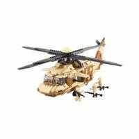 US Army Black Hawk Helicopter Building Blocks Educational Bricks Toy