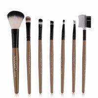 Mosunx 7pcs Makeup Cosmetic Brushes Eyeshadow Eye Shadow Foundation Blending Brush GD