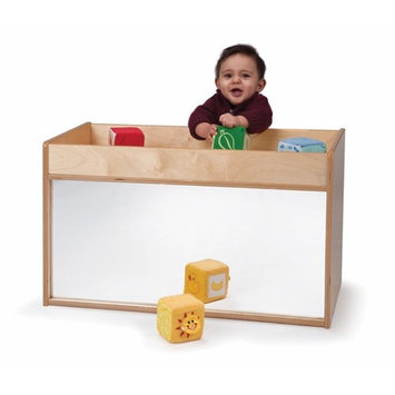 Whitney Brothers Birch Laminate Toddler Cabinet, I See Me, Toddler