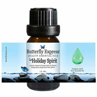 Le Holiday Spirit Essential Oil Blend 10ml - 100% Pure - by Butterfly Express