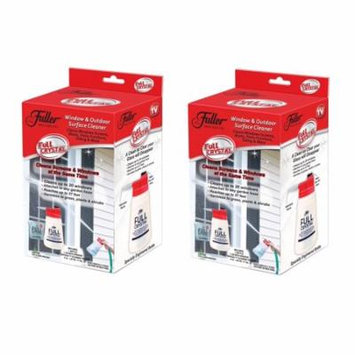 Full Crystal Window and Outdoor Surface Cleaner by Fuller Brush, As Seen on TV 2 Pack