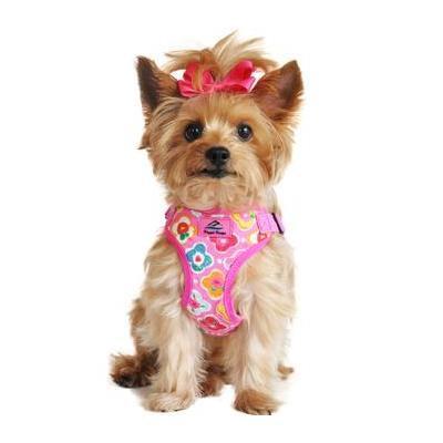 Wrap and Snap Choke Free Dog Harness - Maui Pink X-Small