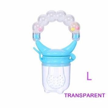 1 Pcs Baby Pacifier Fresh Food Nibbler Fruit Feeder Children Baby Supplies Nipple Pacifier Teat Bottles Nipples Feeder Safe Feeding (Crystal L )