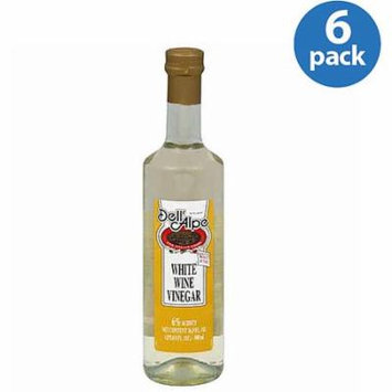 Dell' Alpe Italian White Wine Vinegar, 1