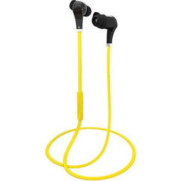 MEElectronics Air-Fi METRO AF71 Bluetooth Noise Isolating In-Ear Stereo Headset (Black/Yellow)