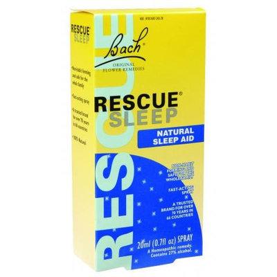 Bach 0908392 Flower Remedies Rescue Sleep Natural Sleep Aid - 0.7 fl oz