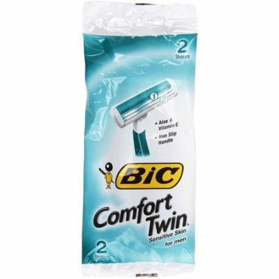 3 Pack - Bic Comfort Twin Shavers for Men, with Aloe 2 ea