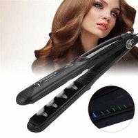 Filfeel Steam Hair Straightener, Six Temperature Settings Steam Hair Straightener Styler Straightening Iron Hair Styling Tool Mini Flat Iron Travel Home use