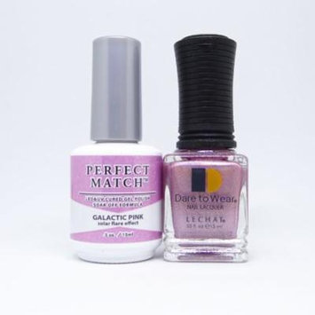 LeChat Perfect Match Spectra Collection Gel Polish + Nail Lacquer Galactic Pink