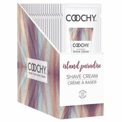 Coochy Oh So Smooth Shave Cream - Island Paradise - 24 Piece Display