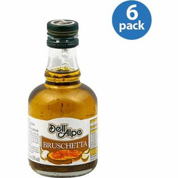 Dell'Alpe Bruschetta Dipping Extra Virgin Olive Oil, 8.5 oz, (Pack of 6)