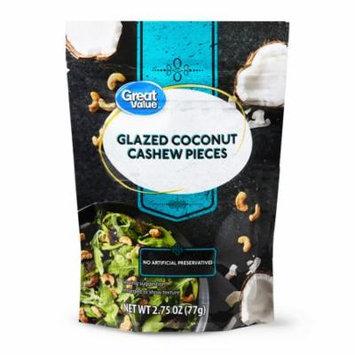 Great Value Glazed Coconut Cashew Pieces, 2.75 oz