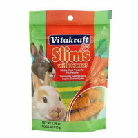 VitaKraft Slims with Carrot for Rabbits 1.76 oz - Pack of 3