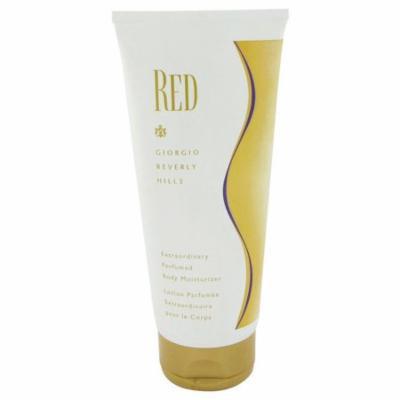 Red By GIORGIO BEVERLY HILLS FOR WOMEN 6.7 oz Body Moisturizer