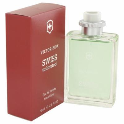 Swiss Unlimited by Victorinox for Men Eau De Toilette Spray 2.5 oz