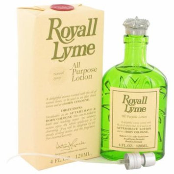 ROYALL LYME by Royall Fragrances All Purpose Lotion / Cologne 4 oz for Men - 100% Authentic