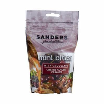 Sanders Fine Chocolates Cherry Almond Caramel Mini Bites