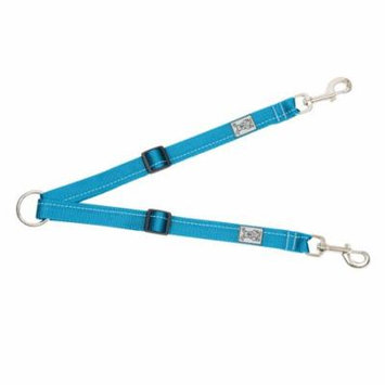 Primary Adjustable Dog Coupler - Cyan X-Small
