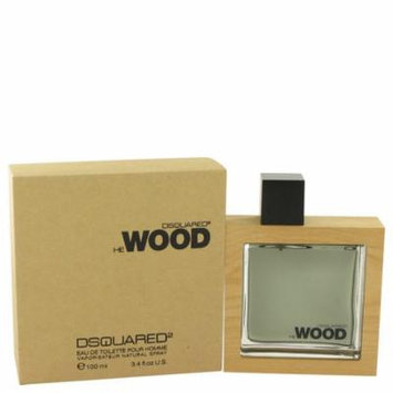He Wood by Dsquared2 Eau De Toilette Spray 3.4 oz for Men