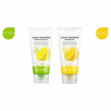 [ Secret Key ] Lemon Sparkling Cleansing Foam / Peeling Gel Set